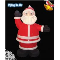 Wholesale 2.5m Christmas Inflatable Santa Claus for Christmas Decoration from china suppliers