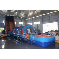 Wholesale 61FT Wave Inflatable Slip N Water Slide from china suppliers