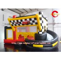 Wholesale Cartoon Toddler Inflatable Bed / Indoor Inflatable Bounce Toys from china suppliers