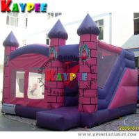 Wholesale Inflatable Pink castle combo ,inflatable bouncer with slide KCB029 from china suppliers