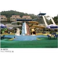 Wholesale Gaint Water Park Project , 8m Amusement Park Water Playground Aquatic Play Slides Equipment from china suppliers