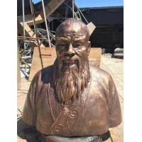 Wholesale Huge Clay Statue Copper Bust Sculpture Garden Figurines Statue Museum Decoration from china suppliers