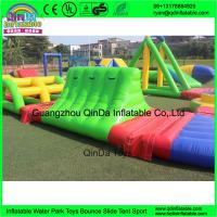 Quality inflatable floating water park, inflatable water amusement park for adults for sale