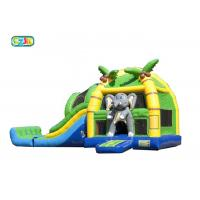Wholesale Elephant Bouncer House Inflatable Castle Gasoline Resistant Leak Proof from china suppliers