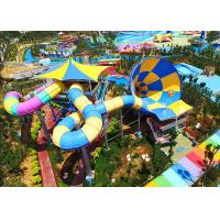 Wholesale Outdoor Tornado Water Slide , Adult Thrilling Hurricane Water Slide from china suppliers