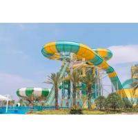 Wholesale Super Boomerang Water Slide Playground For Amusement Park 1 Year Wanrranty from china suppliers