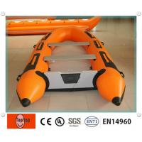 Wholesale PVC Inflatable Fishing Boat , Inflatable Boat With Aluminum Floor For Rafting Or Fishing from china suppliers