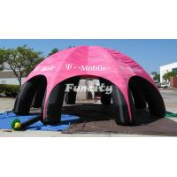 Wholesale Giant Dome Camping Inflatable Air Tent for Advertising 0.55mm PVC Tarpaulin from china suppliers