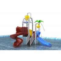 Wholesale Comfortable Blue Backyard Outdoor Water Playground Robot Welding Technology For Summer from china suppliers