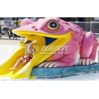 Wholesale Summer Small Swimming Pool Water Slide / Water Pool Slides from china suppliers