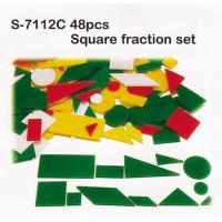 Wholesale Toy, Educatinal Toy, Teaching Aid, Smart Toy, Blocks, Square Fraction Set (S-7112C) from china suppliers