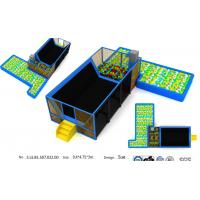 Wholesale 46M2  Attractive Trampoline  Kids Indoor Trampoline Park/ Indoor Trampoline Center/ Amusenment Jumping Club from china suppliers