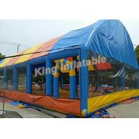 China OEM Customized Colorful Giant Inflatable Event Tent , Commercial Inflatable Tents on sale