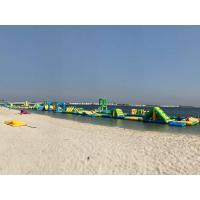 China Bahrain The Longest Inflatable Water Park Made By Bouncia on sale