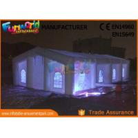 Wholesale Factory Dome Cube Inflatable Party Tent With LED Lighting Customized Color from china suppliers
