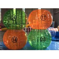China Professional Commercial Human Inflatable Bumper Bubble Ball With Digital Logo on sale