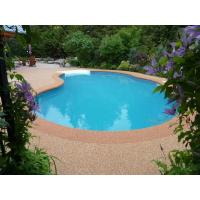 Wholesale Jogging Tracks / Pool Deck Surfaces Rubber Material Anti Pressure And Shock from china suppliers