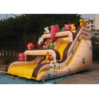 China Noah's Ark Kids Inflatable Games Bounce House And Slide Commercial Grade made of 18 OZ. lead free pvc tarpaulin on sale