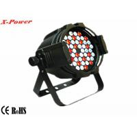 Quality 54 pcs*3w  Rgb 3 In 1 Led Par Can Lights  LED  Effect Lighting  For TV Studios   PL-49 for sale