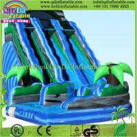 China 2015 inflatable game toys used playground inflatable slides for sale on sale