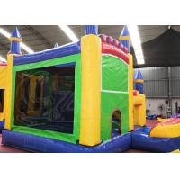 Commercial Inflatable Jumping Castle / Inflatable Water Slides Bounce House Combos