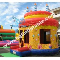 Buy cheap Inflatable BIRTHDAY cake bouncer,inflatable bouncy castle,bouncy house from wholesalers