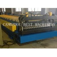 Buy cheap Metal Steel Galvanized Corrugated Roofing Sheet Roll Forming Machine from wholesalers