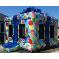 China Plato Commercial Bouncy Castles Birthday Gift Box Inflatable Jump House on sale
