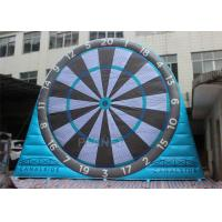 Fun Inflatable Sports Games , Inflatable Kick Darts 0.55 Mm Plato PVC Tarpaulin
