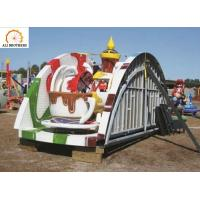 Wholesale Outdoor Portable Amusement Rides , 220v / 380v Folded Coffee Cup Ride from china suppliers