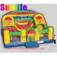 Wholesale hot sell inflatable jumper slide combo com044 from china suppliers