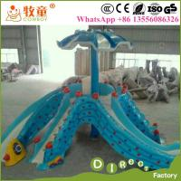 Buy cheap WWP-300A Water Park Attractions Fiberglass Octopus Slides for Aqua Park from wholesalers