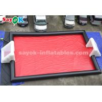 Wholesale 15*8m PVC Tarpaulin Inflatable Sports Games Inflatable Football Field from china suppliers