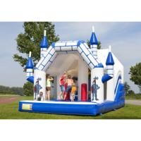 Wholesale Funny Cartoon Bouncy Water Slide EN1176 Certificated For Amusement Park from china suppliers