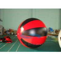 Wholesale Red Black Custom Printing Balloons , Hand Drawing Sky Advertising Balloons from china suppliers