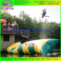 Wholesale Guangzhou QinDa  Hot Sale Inflatable Water Blob / Inflatable Blob Jump Water Toy Sale from china suppliers