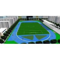 Quality IAAF Rubber Athletic Track Flooring For Walk Path Construction for sale