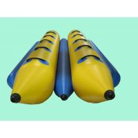Wholesale Custom Safety Banana Boat Inflatable Beach Ball Of Colorful PVC , Fire-Resistant from china suppliers