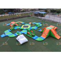 Wholesale 60 Players Giant inflatable Water Park Sea Floating Park Racing Obstacle Sport from china suppliers
