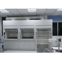 China Full Steel Fume Hood , Metal Hospital / School Laboratory Fume Cupboards on sale