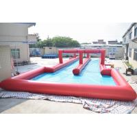 Wholesale 50m Inflatable Water Slide , Inflatable Long Slide For City Road from china suppliers
