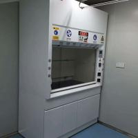 Quality Chemical Steel Fume Hood For Adjustable Air Volume Up To 0.5m/S for sale