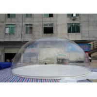 Wholesale Custom Logo Printed 8m Dia Inflatable Transparent Bubble Tent For Advertising from china suppliers