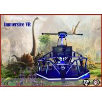 Wholesale Blue / Red LED Virtual Reality Simulator 2 Handles 9d VR Magic Interactive Games from china suppliers