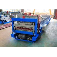 Wholesale Roofing Cladding Sheet Making Machine / Cold Roll Forming Machine Easy Operate from china suppliers