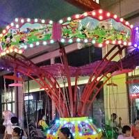 Wholesale Flying Chair Ride Kids Amusement Ride Load 8 Riders With Mickey Decoration from china suppliers