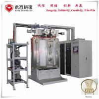 Quality Furniture Gold Color Titanium Nitride Coating Machine Recycle Water Cooling for sale