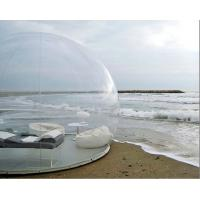 Wholesale Outdoor inflatable bubble tent house clear inflatable bubble tent house for sale from china suppliers