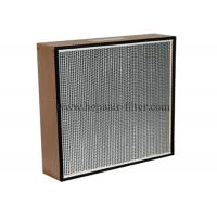 Replacement Electric Hepa Air Filters With Wooden Frame , Portable