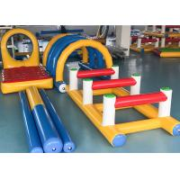 Wholesale Outdoor Sport Inflatable Hurdles 4 Sets Series With Soft Protection from china suppliers